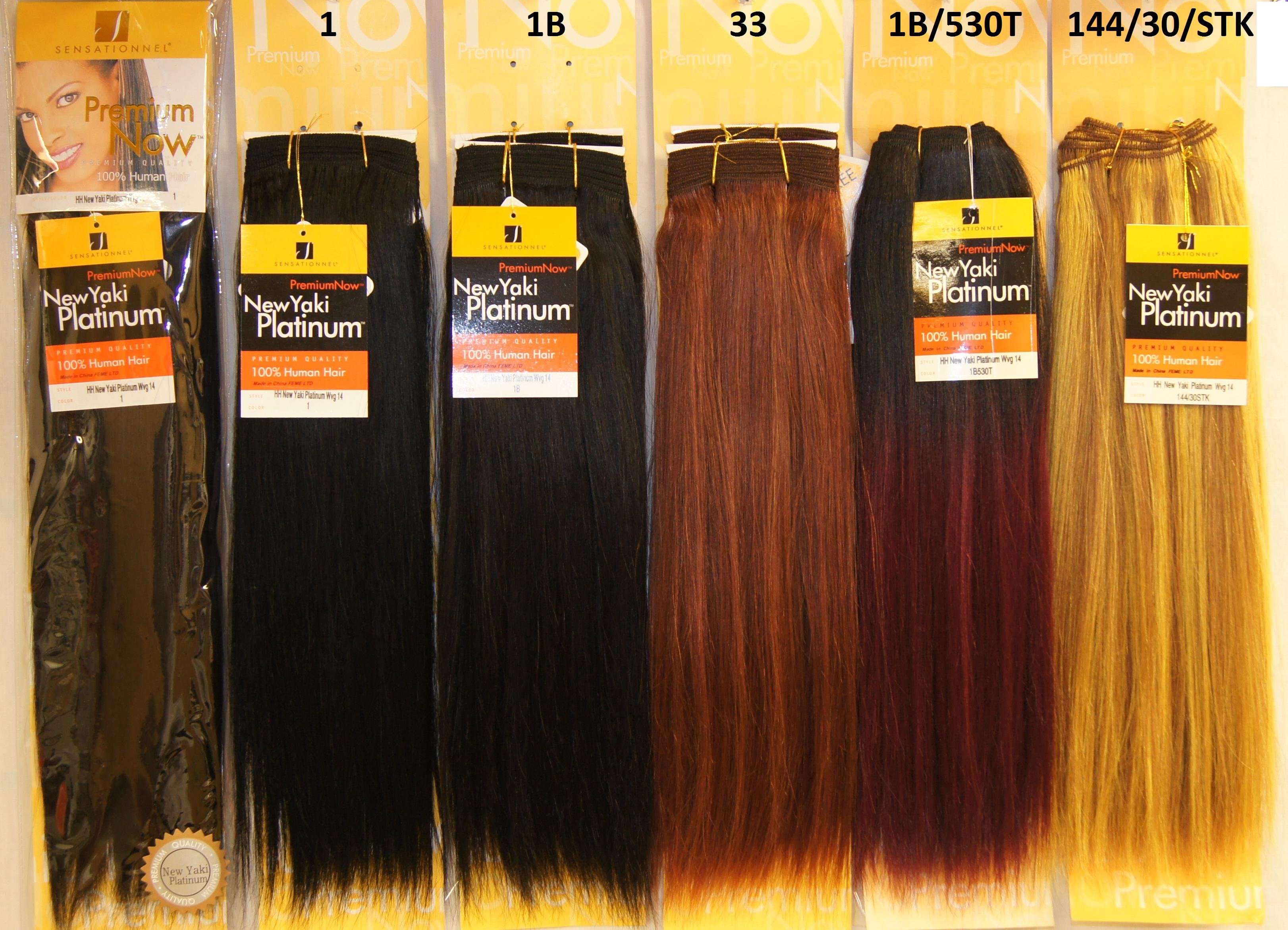 Sensationnel Premium Now 100 Human Hair New Yaki Platinum 39